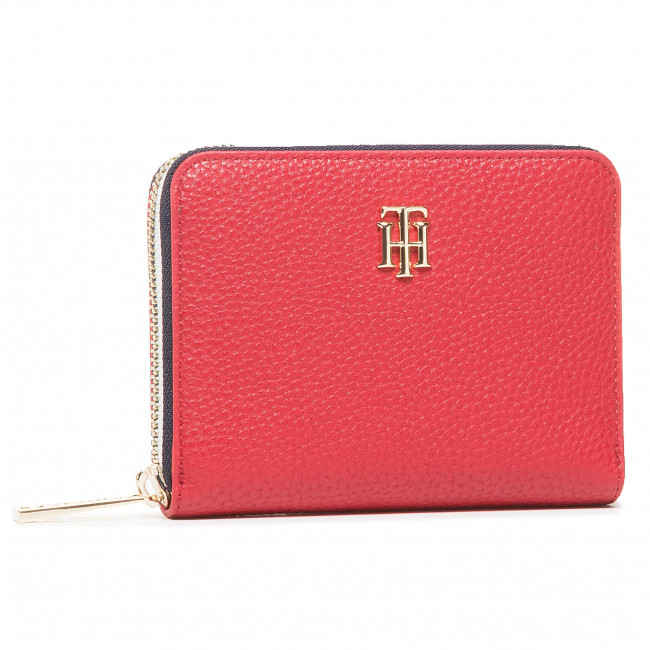 Large Women's Wallet TOMMY HILFIGER - Th Essence Med Za Corp AW0AW09020 XMP