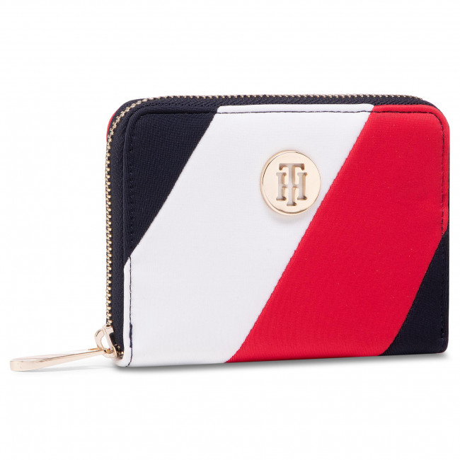 Large Women's Wallet TOMMY HILFIGER - Poppy Med Za Corp AW0AW09540 0GY