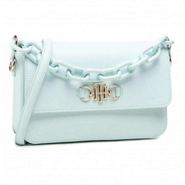 Handbag TOMMY HILFIGER - Th Club Flap Crossover AW0AW09678 GRN