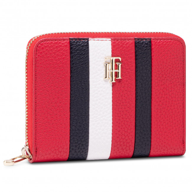 Large Women's Wallet TOMMY HILFIGER - Th Essence Med Za Crop AW0AW09848 SNE