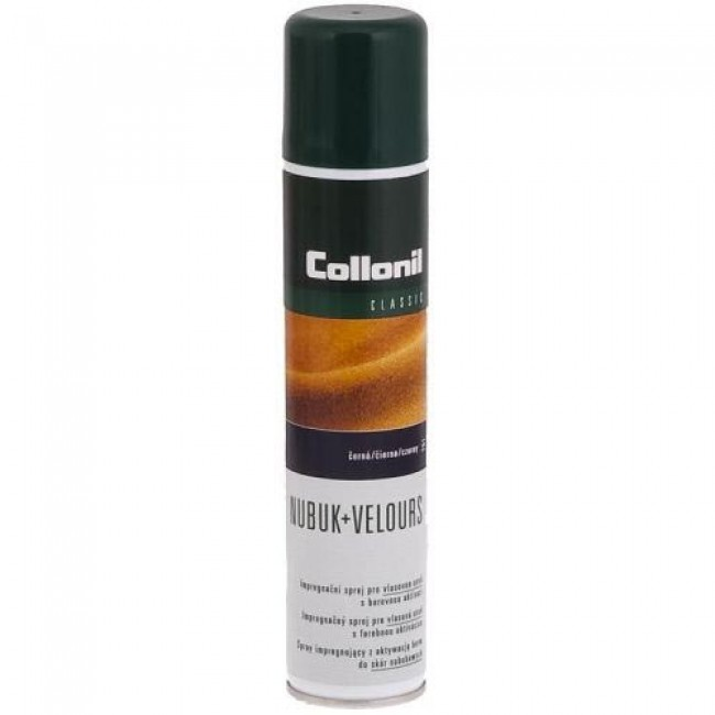 Shoe Care COLLONIL - Nubuk+Velours 200ml Marron Fonce 399