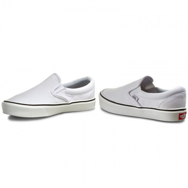 entire collection the sale of shoes really cheap Plimsolls VANS - Slip-On Lite + VN0004PEL5R (canvas) True White ...