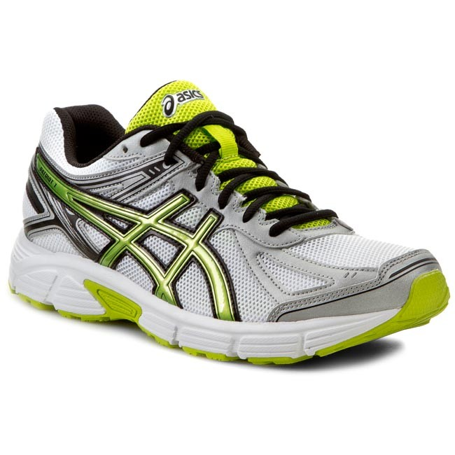 Shoes ASICS - Patriot 7 T4D1N White/Lime/Silver