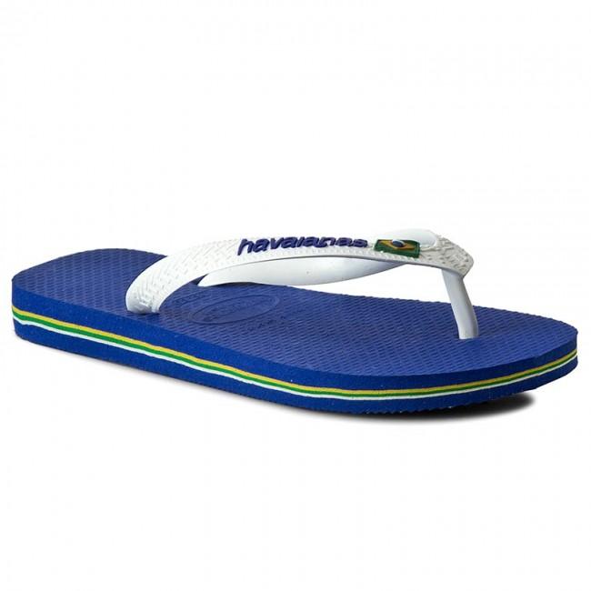 Slides HAVAIANAS - Brasil Logo 41108502711 Marine Blue