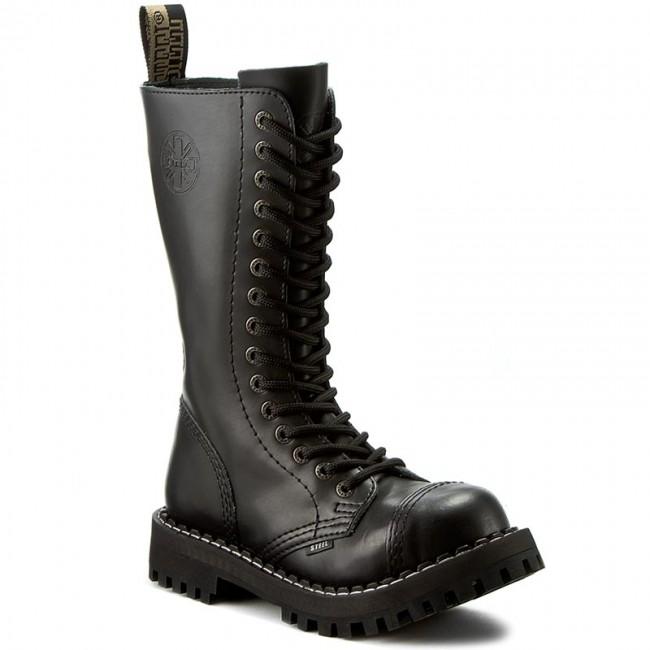 Combat Boots STEEL - 135-136 Black
