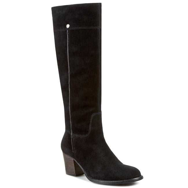 Knee High Boots GEOX - D Chelsey 2 A D24S6A 00023 C9999 Black