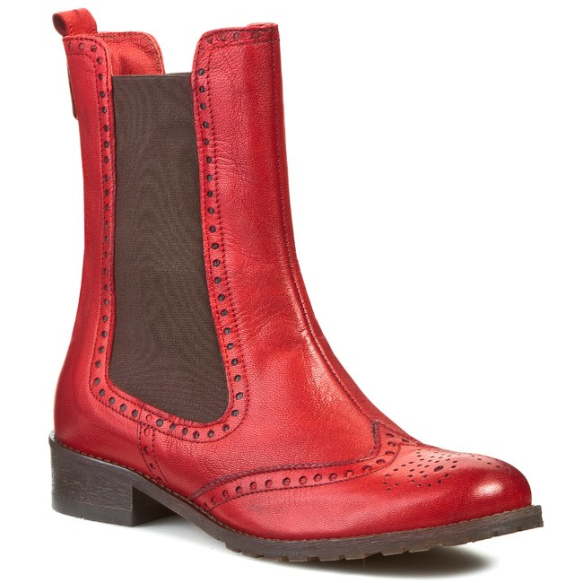 Ankle Boots LAN-KARS - A5212-64 Red