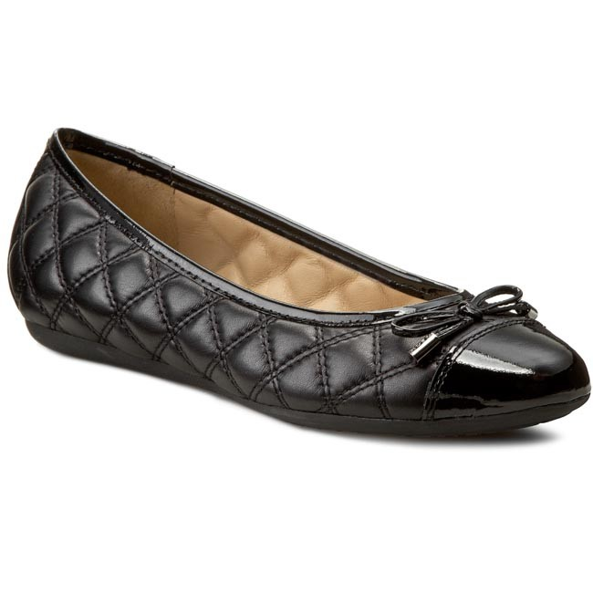 Gruñón sueño Circular  Flats GEOX - D Lola L D24M4L 08566 C9999 Black - Ballerina shoes - Low  shoes - Women's shoes | efootwear.eu