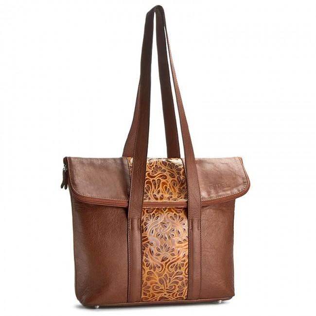 Handbag AJTNER - 186 Brown