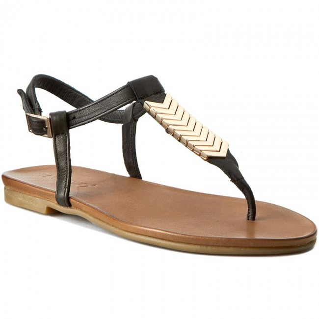 new styles 841e5 dedad Slides INUOVO - 5273 Rio Black Leather