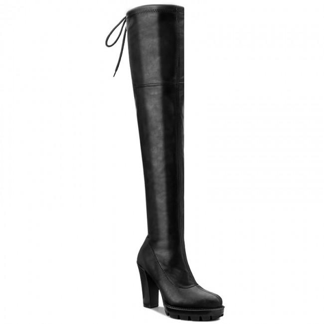 Over-Knee Boots R.POLAŃSKI - 0806 Czarny Lico