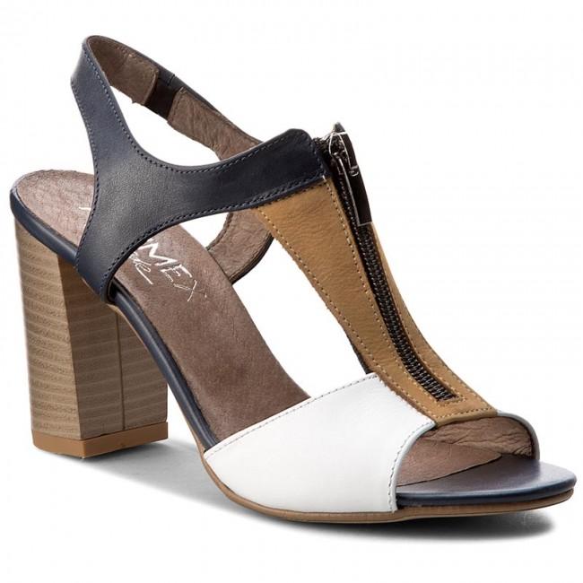 Sandals ANN MEX - 6887 05KR+89R+00S Mix Granat