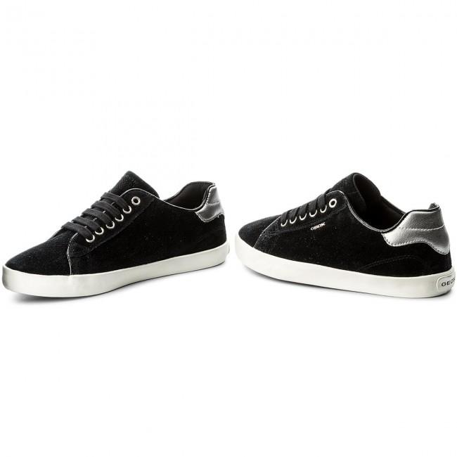 GEOX Enfant J Kiwi G. B J64D5B Textile Noir Chaussures