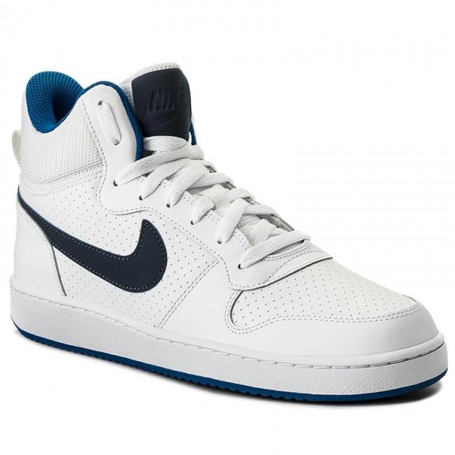 f8d1258e99d4b Shoes NIKE - Court Borough Mid 838938 103 White/Thunder Blue/Blue Jay -  Sneakers - Low shoes - Men's shoes - efootwear.eu