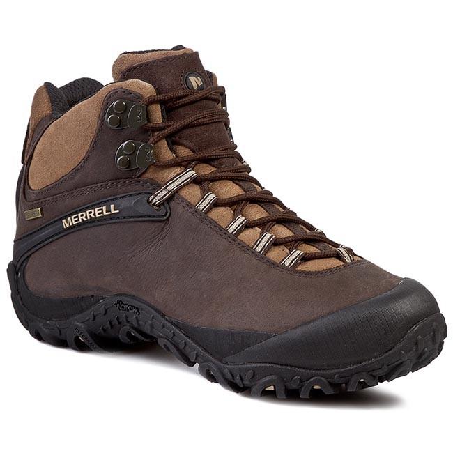 Trekker Boots MERRELL - Chameleon 4 Mid Waterproof J15035 Espresso