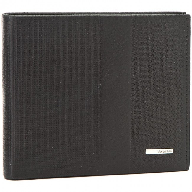 Large Men's Wallet VALENTINI - 157.322 Black