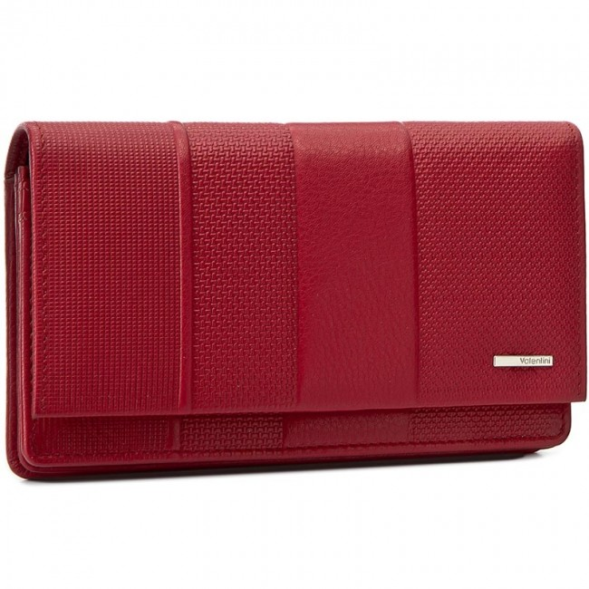 Large Women's Wallet VALENTINI - 157.550 Red