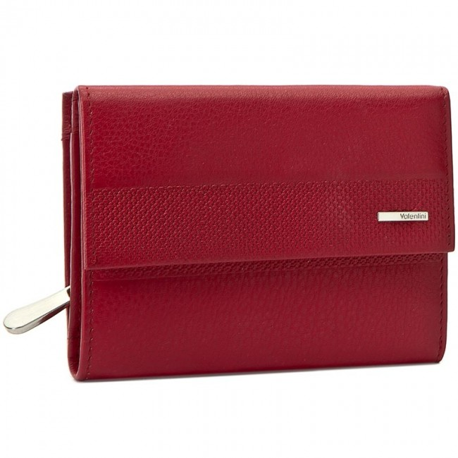 Large Women's Wallet VALENTINI - 157.P6 Red