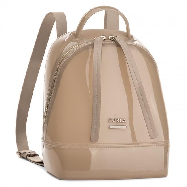 Backpack FURLA - Candy 870531 B BJW1 PL0 Acero