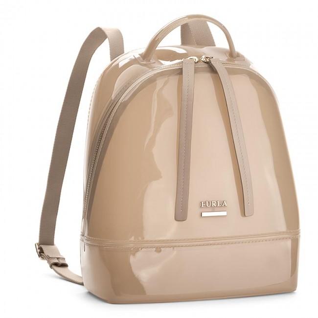 Backpack FURLA - Candy 870537 B BJW2 PL0 Acero