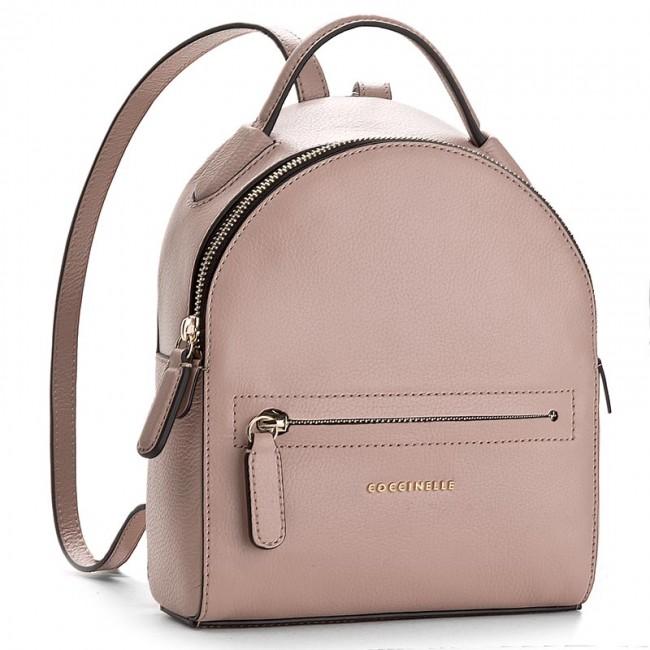 24b3228693b5f6 Backpack COCCINELLE - AF8 Clementine Soft E1 AF8 54 01 01 Pivoine 208 -  Backpacks - Handbags - efootwear.eu