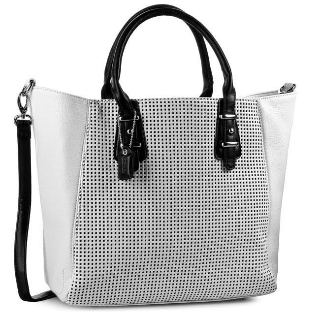 Handbag CLARKS - Mahoe Bay 261084730 White/Black