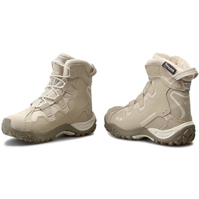 Trekker Boots SALOMON Snowtrip W 327073 SandLight GreyThyme