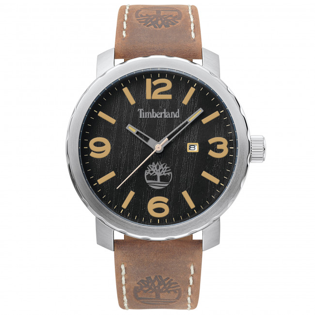 Nacarado cápsula Molesto  Wristwatch TIMBERLAND - Pinkerton 14399XS/02 Brown/Silver - Men's - Watches  - Accessories | efootwear.eu