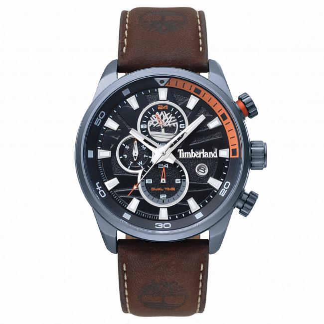 Wristwatch TIMBERLAND Henniker II 14816JLU02A BrownGrey