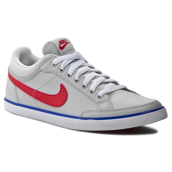 880cf8c3 Shoes NIKE - Capri III Lov LTHR 579622 064 Light Ash Grey/ Chilling Red/ Gm  Ryl - Casual - Low shoes - Men's shoes - efootwear.eu
