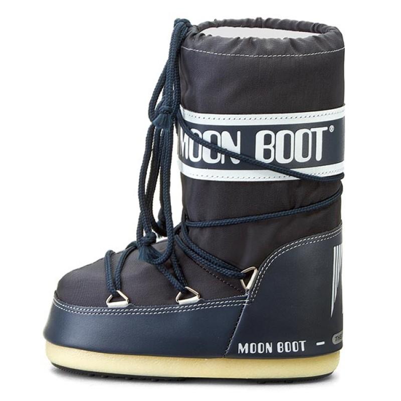 Snow Boots MOON BOOT - Nylon 14004400064 Denim Blue M