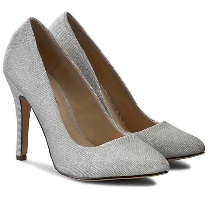 Stilettos MENBUR - 006025 Silver/Plata