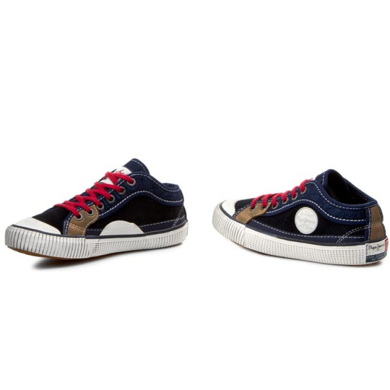 8f381593c17a6 Sneakers Pepe Jeans Industry Junior Patch Pbs30136 DOCKSTEPS ...