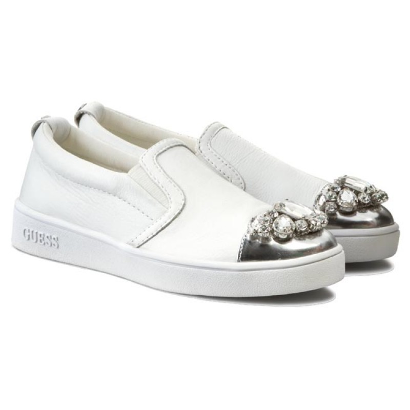 Sneakers Guess - Flfrr3 Lea12 White 9lgKt6