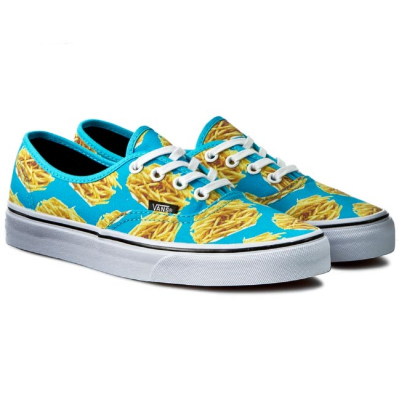 Vans Authentic Classic late night blue atoll fries