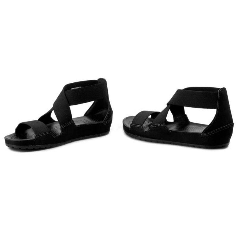 Sandals CROCS  Anna Ankle Strap Sandal 203001 Black