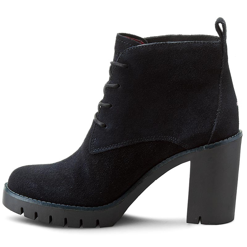 Boots TOMMY HILFIGER - Paola 2B FW56821576 Midnight 403