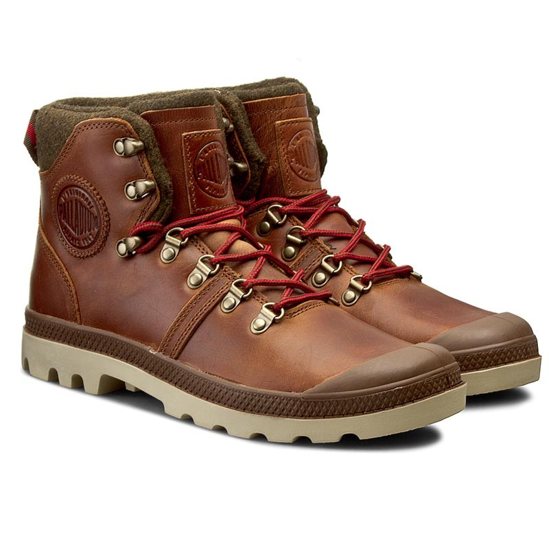 Palladium Pallabrouse Hikr Sunrise Red Safari-40