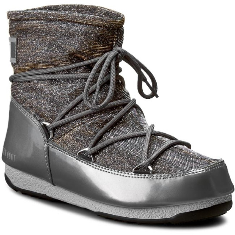 Moon Boot W.e. Quilted - - Mujer, Bronzo-Blu-Grigio, 37