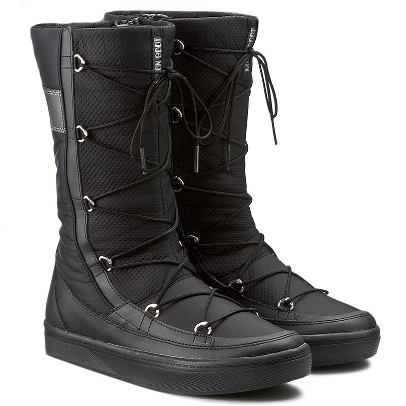 Snow Boots MOON BOOT - Vega Hi 24100900001 Nero