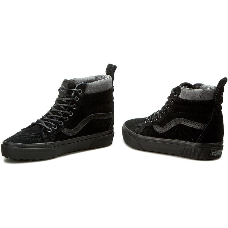 Furgonetas Sk8-hi Zapatos Negros Y Camo Mte VnlwXTwOD