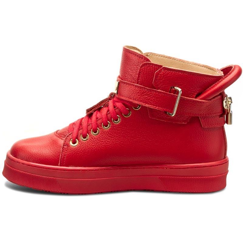 Sneakers R.POLAŃSKI - 0837 Czerwony Lico YaJhj8t