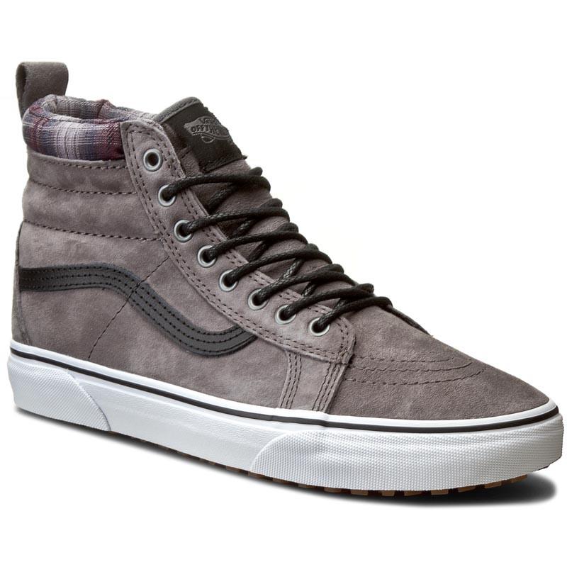 Sk8-Hi MTE Shoes (mte) pewter / plaidVans HFQxIFivG