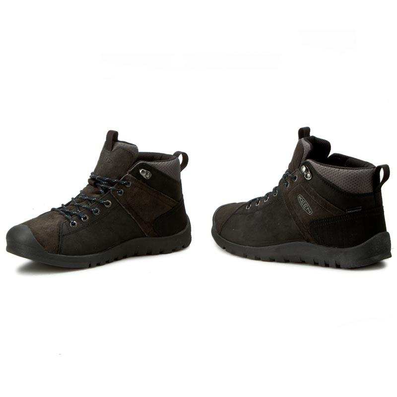 Trekker Boots KEEN - Citizen Keen Mid Wp 1015134 Black