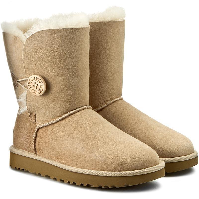Schuhe UGG - W Bailey Button II 1016226 W/San Ny5nrf