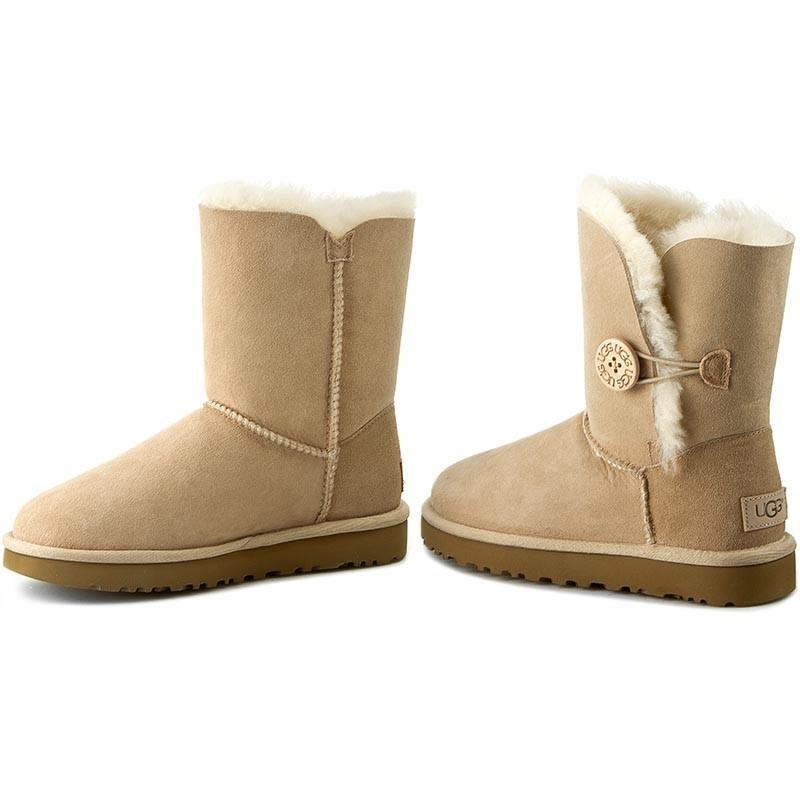 Schuhe UGG - W Bailey Button II 1016226 W/San K5cFI