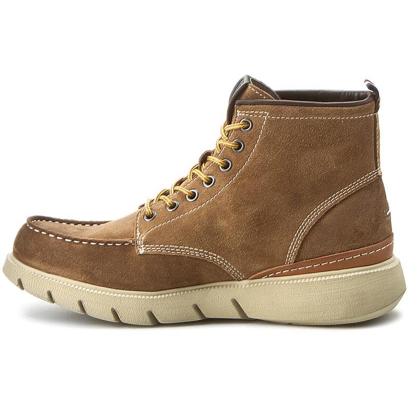 Knee High Boots TOMMY HILFIGER - DENIM John 1B EM56821802 Fudge 323