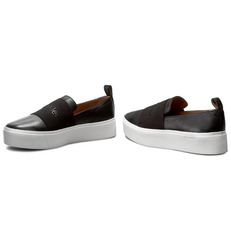 Calvin Klein JACINTA - Slip-ons - black 5KeiFXz
