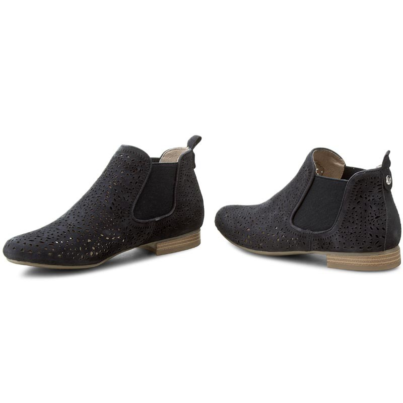 Ankle Boots CAPRICE - 9-25300-28 Ocean Suede 857