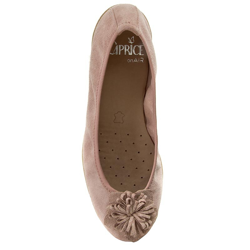 Flats CAPRICE  92215328 Rose Comb 504  Ballerina shoes  Low shoes  Womens shoes       0000199172243